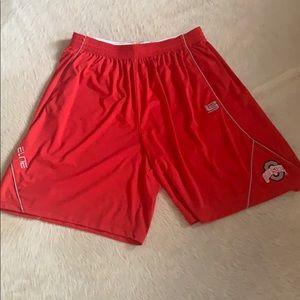 Ohio State Nike Basketball Shorts NWOT